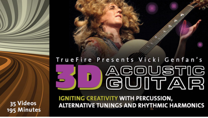 3D Acoustic Guitar by Vicki Genfan and Truefire.com