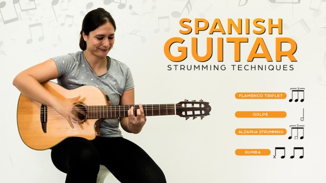 #Let'sReview | Spanish Guitar – Strumming Techniques by Edina Balczó